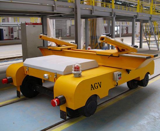 探感物联AGV小车远距离RFID定位识别