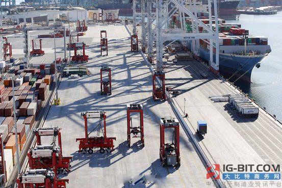 AGV搬运机器人占美国码头 遭工会抵制?