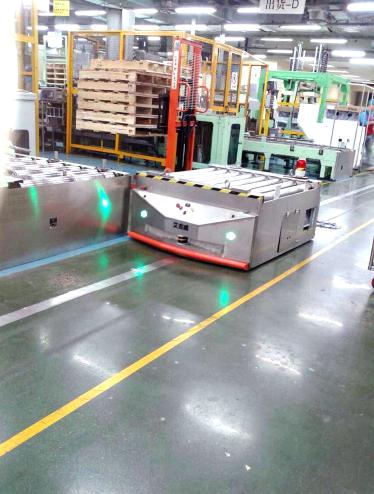 AGV比传统搬运设备具有突出优势
