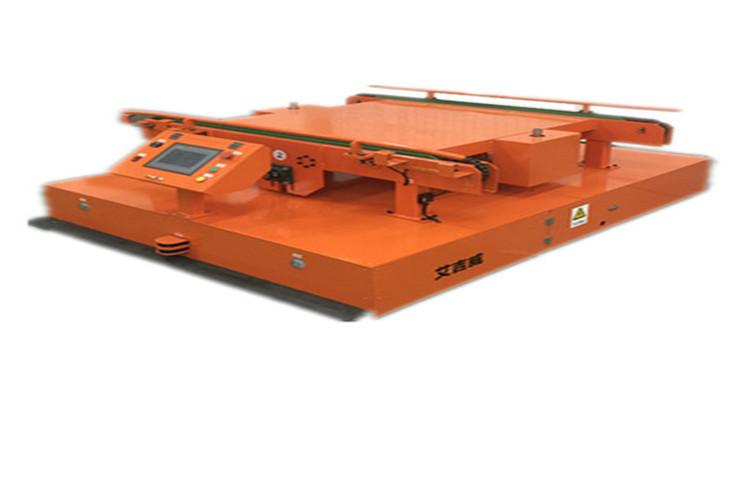 AGV小车用于物品的运送,避免了危险