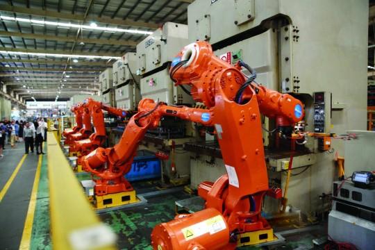 """曾经的改革""""领头羊""""珠海 抢占机器人制造高地"""