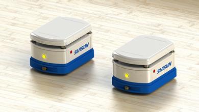 四大国产AGV小车汽车生产搬运机器人系统