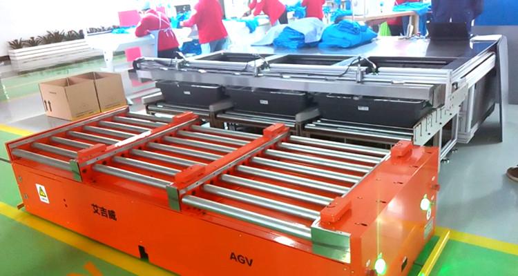 AGV小车厂家如何走向工业4.0?