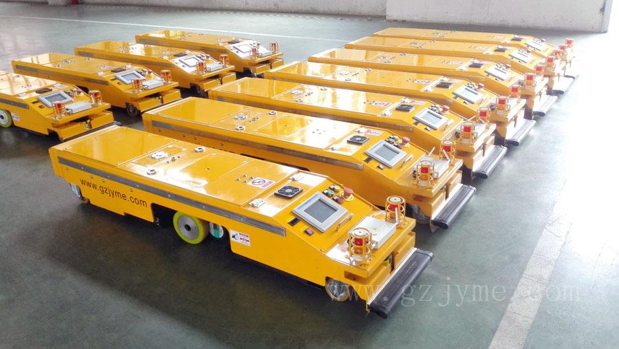 广州井源:移动机器人远销海外
