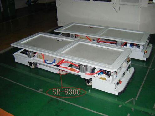 江苏某企业高速AGV UHF RFID识别定位系统