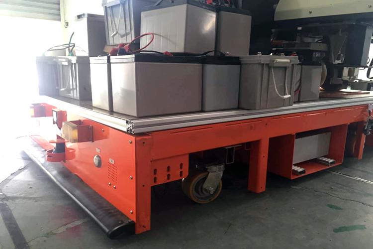 重载AGV小车的应用领域及行业浅析