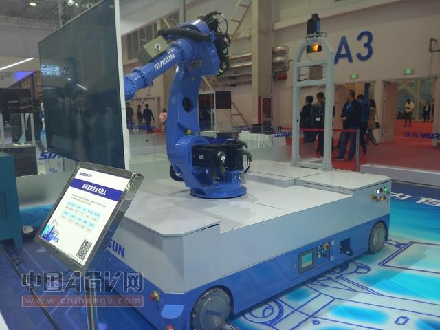 2016世界机器人博览会AGV厂商概览