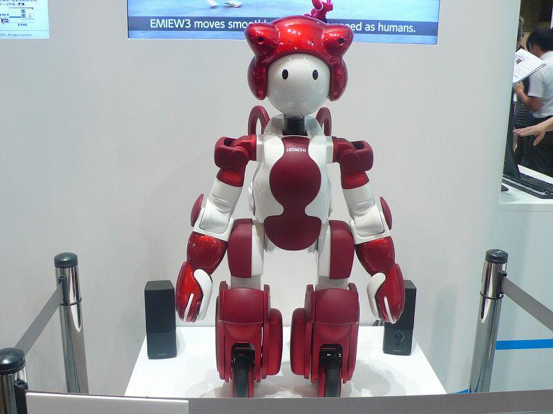 CEATEC JAPAN 2016日立展位的机器人阵容越显强大