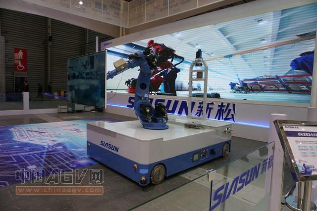 亚洲物流展概览——AGV引领物料搬运智能化