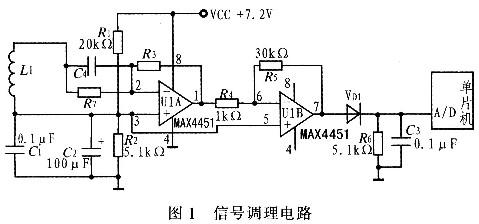 磁导航传感器信号调理电路设计
