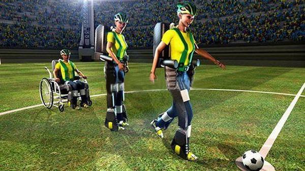 奇迹骨骼机器人让截瘫患者参与巴西世界杯