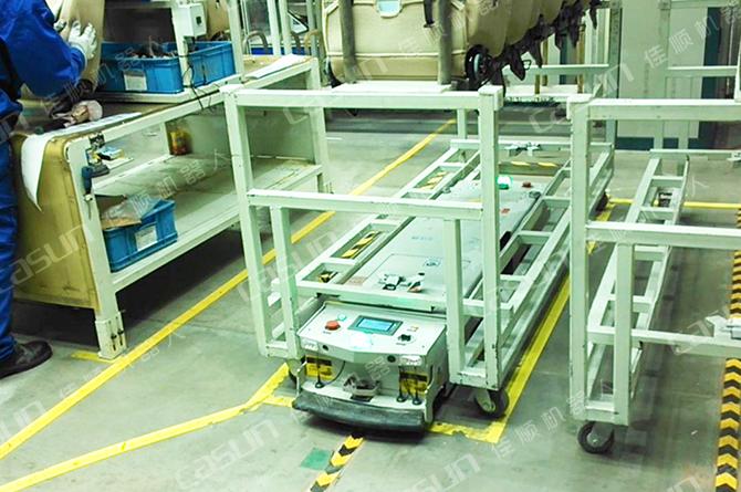 为什么智能工厂偏爱应用AGV小车?