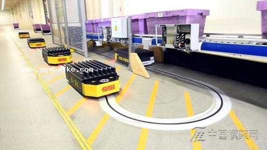 AGV在自动配方生产线的运用
