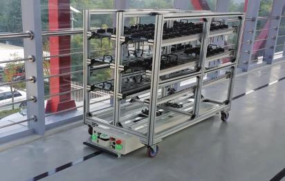 AGV工业机器人自适应运动控制技术
