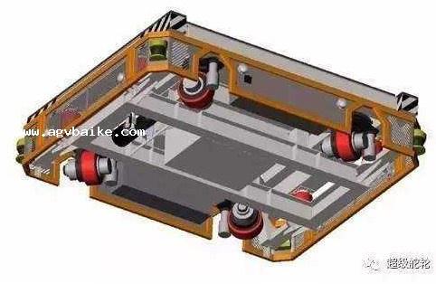 AGV模式的堆垛机的AGV模块