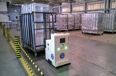 自动化助力迈进工业4.0 AGV技术强势归来!
