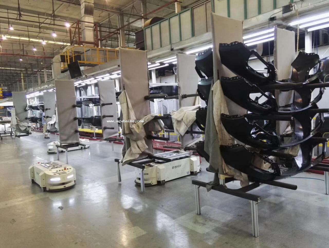 AGV机器人联合运行 自动化再次升级