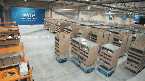 双十一成交额再刷记录,智能仓储机器人助力8.12亿物流订单