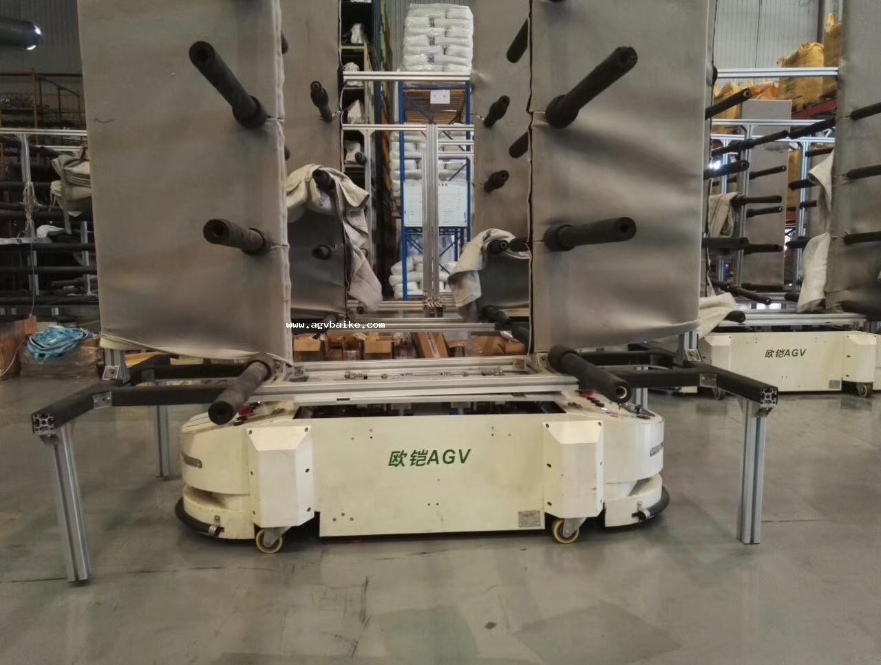 AGV机器人在柔性制造系统中的作业流程分析