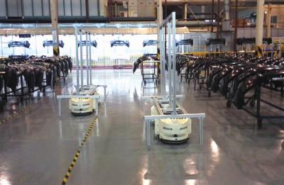 使用智能AGV仓储机器人的十大优势