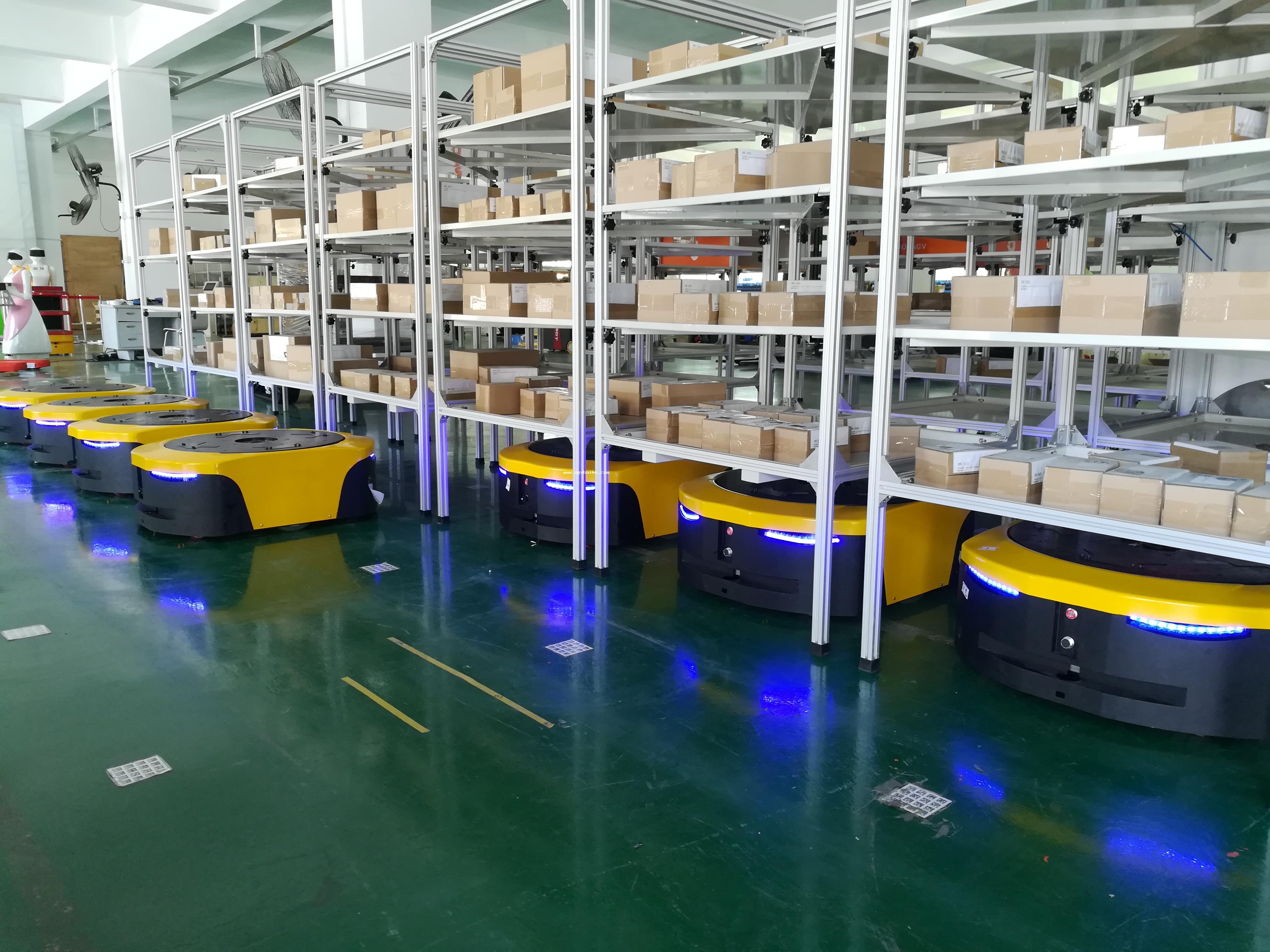 AGV仓库和传统库房相比有哪些优点