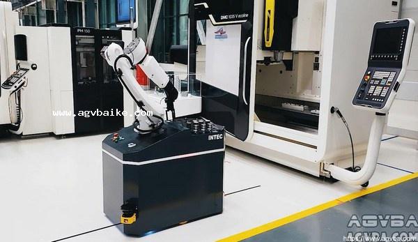 AGV车载平台的码垛机器人