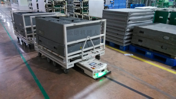 AGV搬运机器人的优点