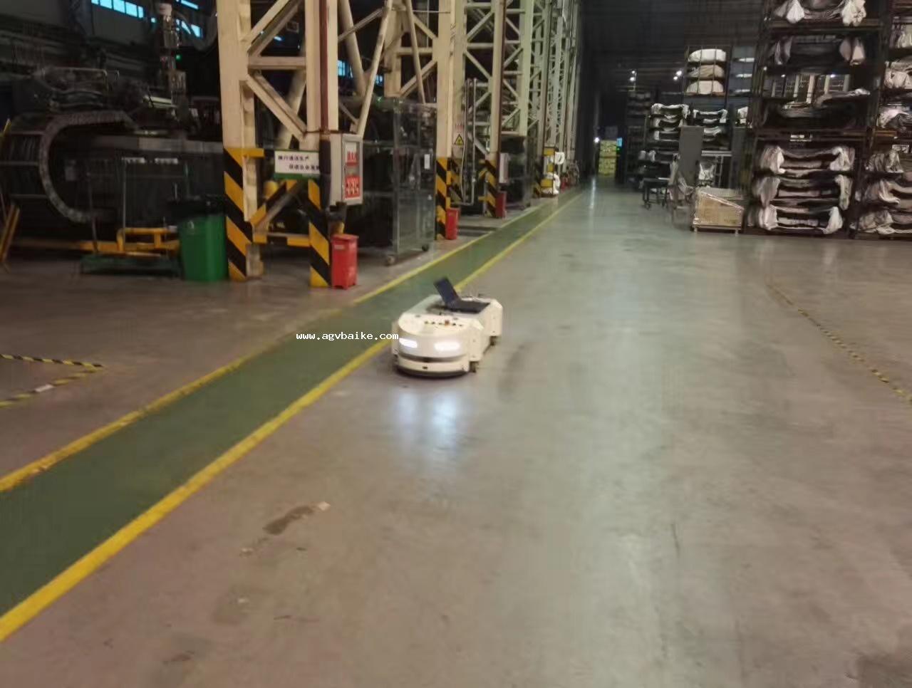 AGV智能物流小车注意事项