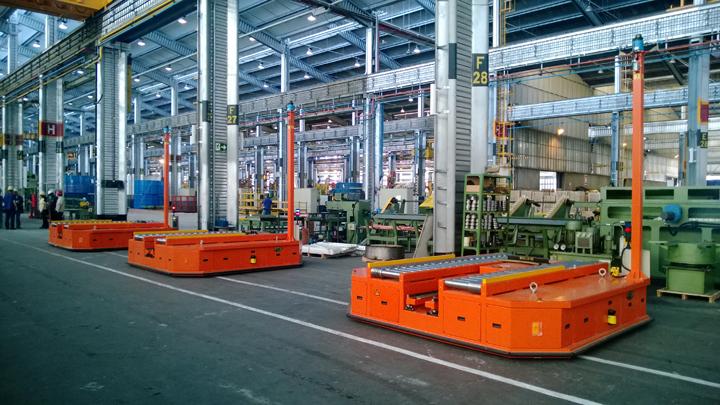 AGV的综合技术将逐步机器人化