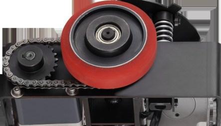自动切换轮子的智能车底盘及AGV台车